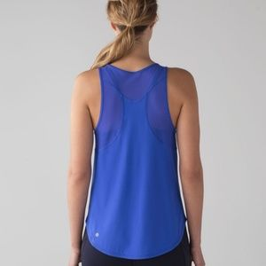 Lululemon Sculpt Mesh Sleeveless Muscle Tank Top